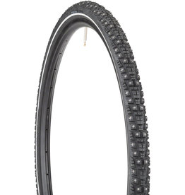 45NRTH 45NRTH Gravdal Tire - 650b x 38, Tubeless, Folding, Black, 60tpi, 240 Concave Carbide Studs