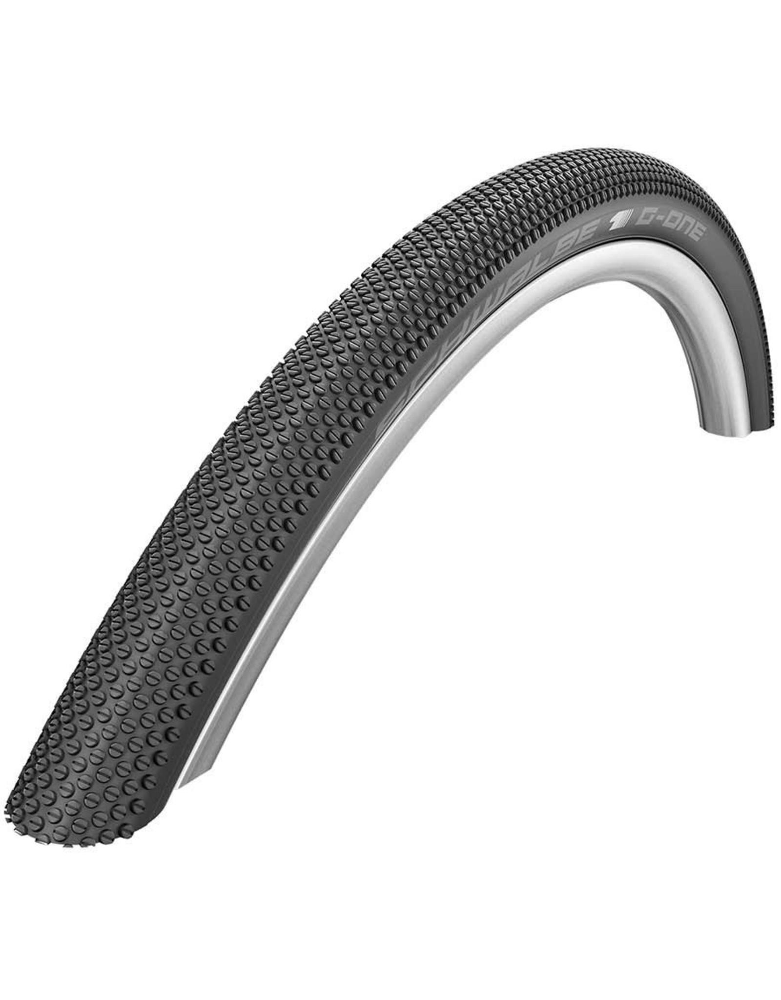 SCHWALBE Schwalbe, G-One Allround, Tire, 27.5''x1.50, Folding, Clincher, Dual, RaceGuard, 67, Black