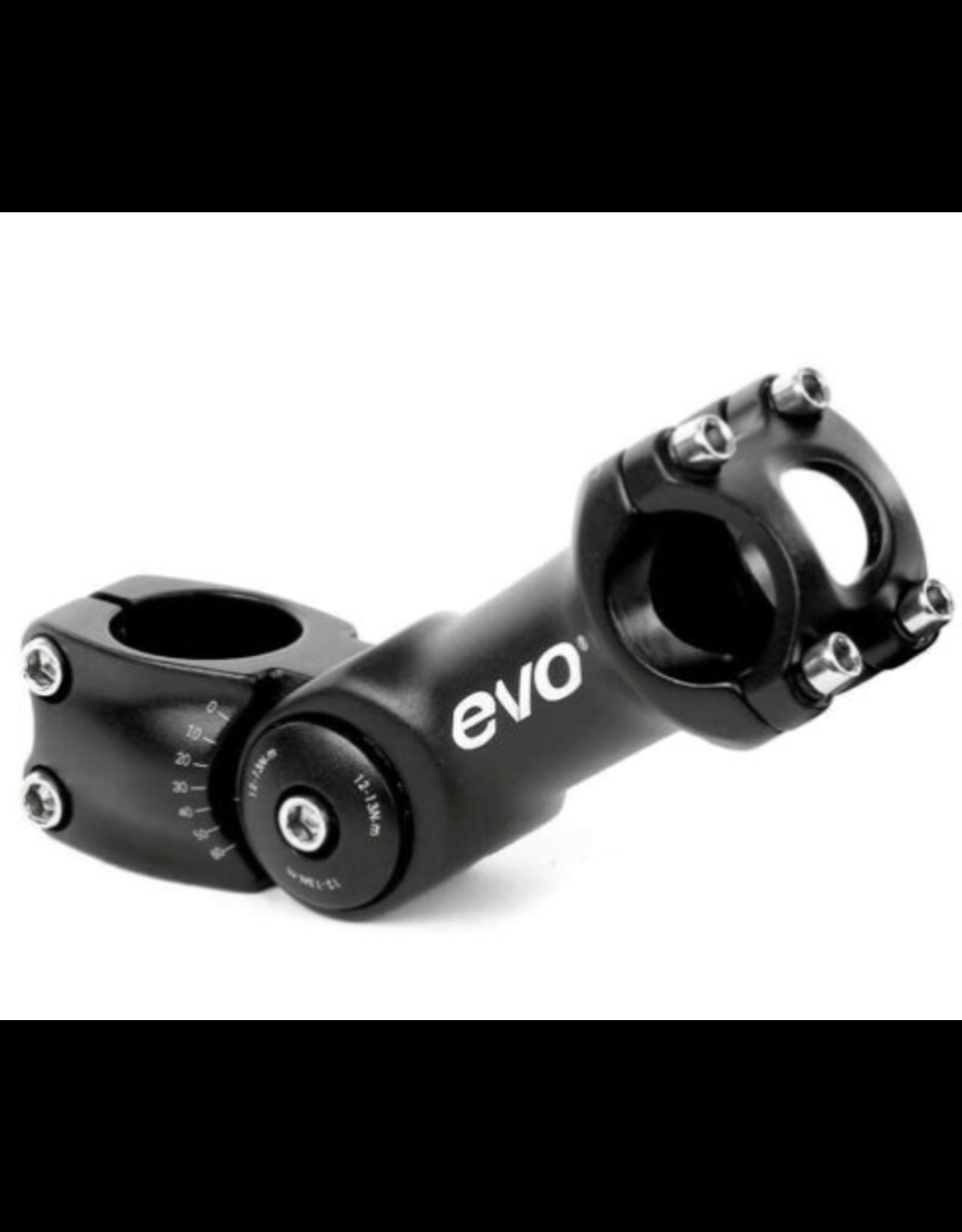 EVO EVO, Compact, Stem, Diameter: 31.8mm, Length: 110mm, Steerer: 1-1/8'', Black