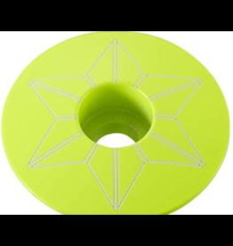 Supacaz CRD-Supacaz Star Plugz, Neon Yellow Powder coated /set