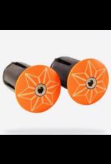 Supacaz CRD-Supacaz Star Plugz, Neon Orange Powder coated /set