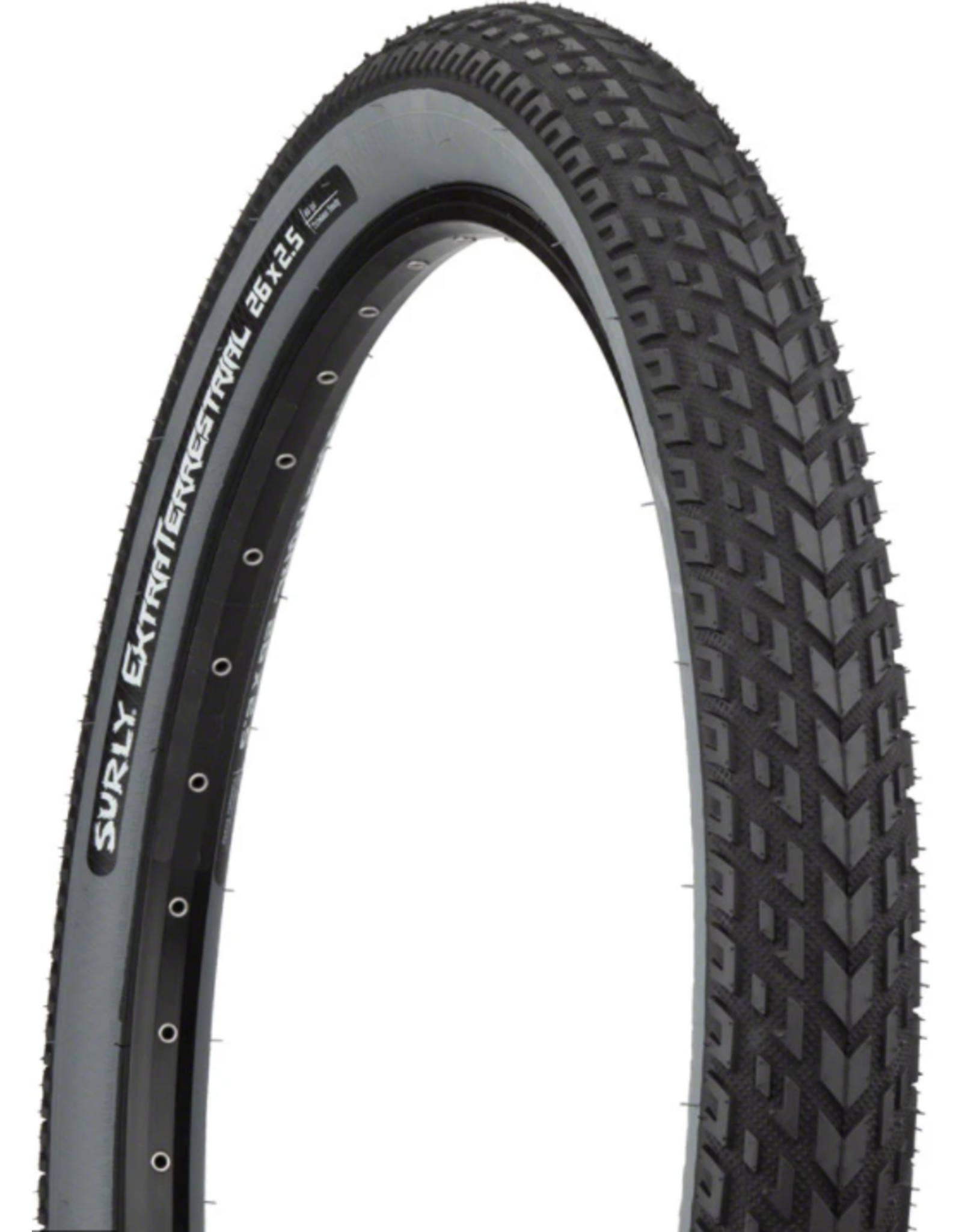 Surly Surly ExtraTerrestrial Tire - 26 x 2.5, Tubeless, Folding, Black/Slate, 60tpi