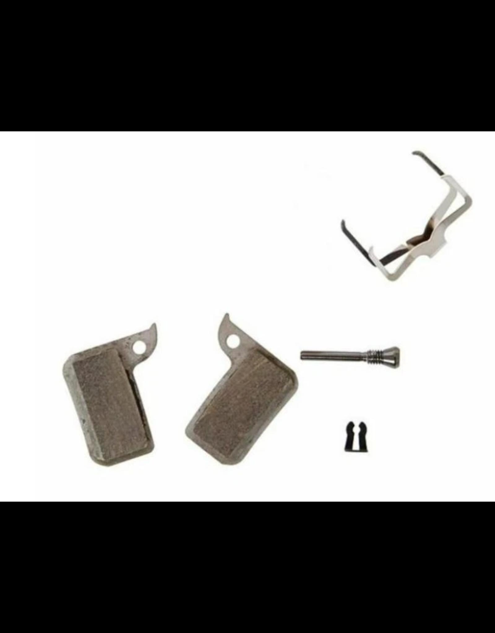 SRAM SRAM, level  TLM, level Ultimate, HRD, Disc Brake Pads, Shape: SRAM HRD/level TLM, Metallic, Pair