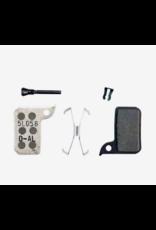 SRAM SRAM, level TLM, level, Ultimate, HRD, Disc Brake Pads, Shape: SRAM HRD/level TLM, Organic, Pair, Aluminium plate