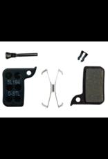 SRAM SRAM, level TLM, level Ultimate, HRD, Disc Brake Pads, Shape: SRAM HRD/level TLM, Organic, Pair, Steel plate
