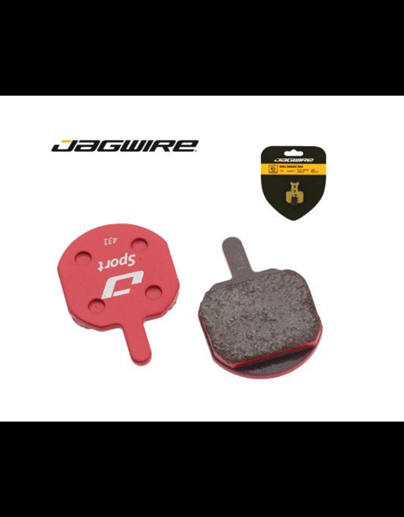 Jagwire Jagwire, Mountain Sport, Disc brake pads, Semi-metallic, Hayes CX5, MX5, MX4, MX3, MX2, Sole