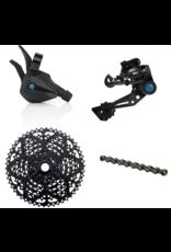 Box Components Box Three Prime9 Groupset, 9 Speed, Multi-Shift Kit, 11-46t, Black