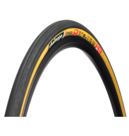 Challenge Challenge Strada Pro Tire - 700 x 25, Clincher, Folding, Black/Tan, Handmade