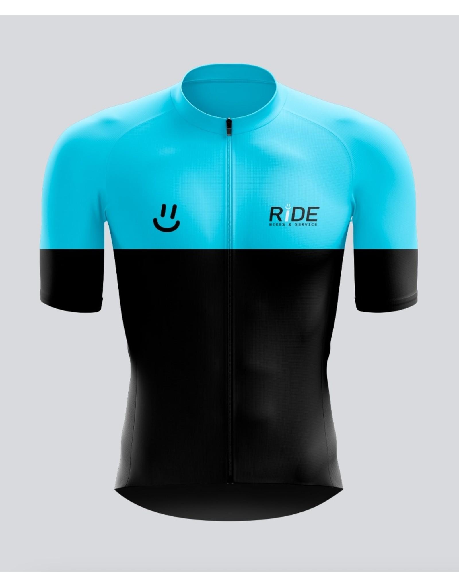 Givelo RIDE BS Bike Jerseys Blue/Pink Men's M