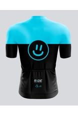 Givelo RIDE BS Bike Jerseys Blue/Pink Men's XL