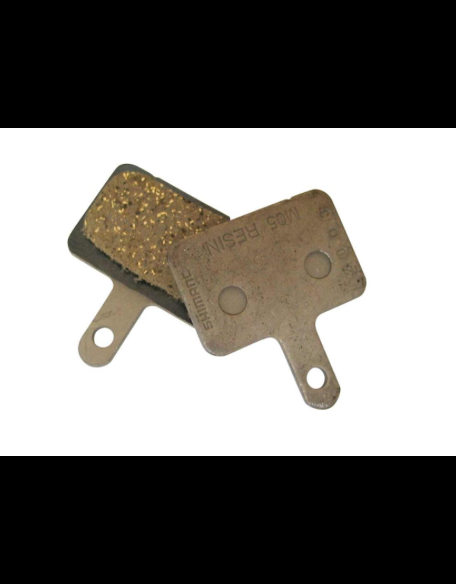 Shimano Shimano, Y8B698010, M05, BR-M515, Disc brake pads, Resin, Pair, B type