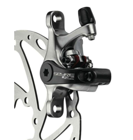 TRP TRP, Spyre SLC, Road Mechanical Disc Brake, Front or Rear, Post mount, 140 or 160mm (not included), 170g, Silver