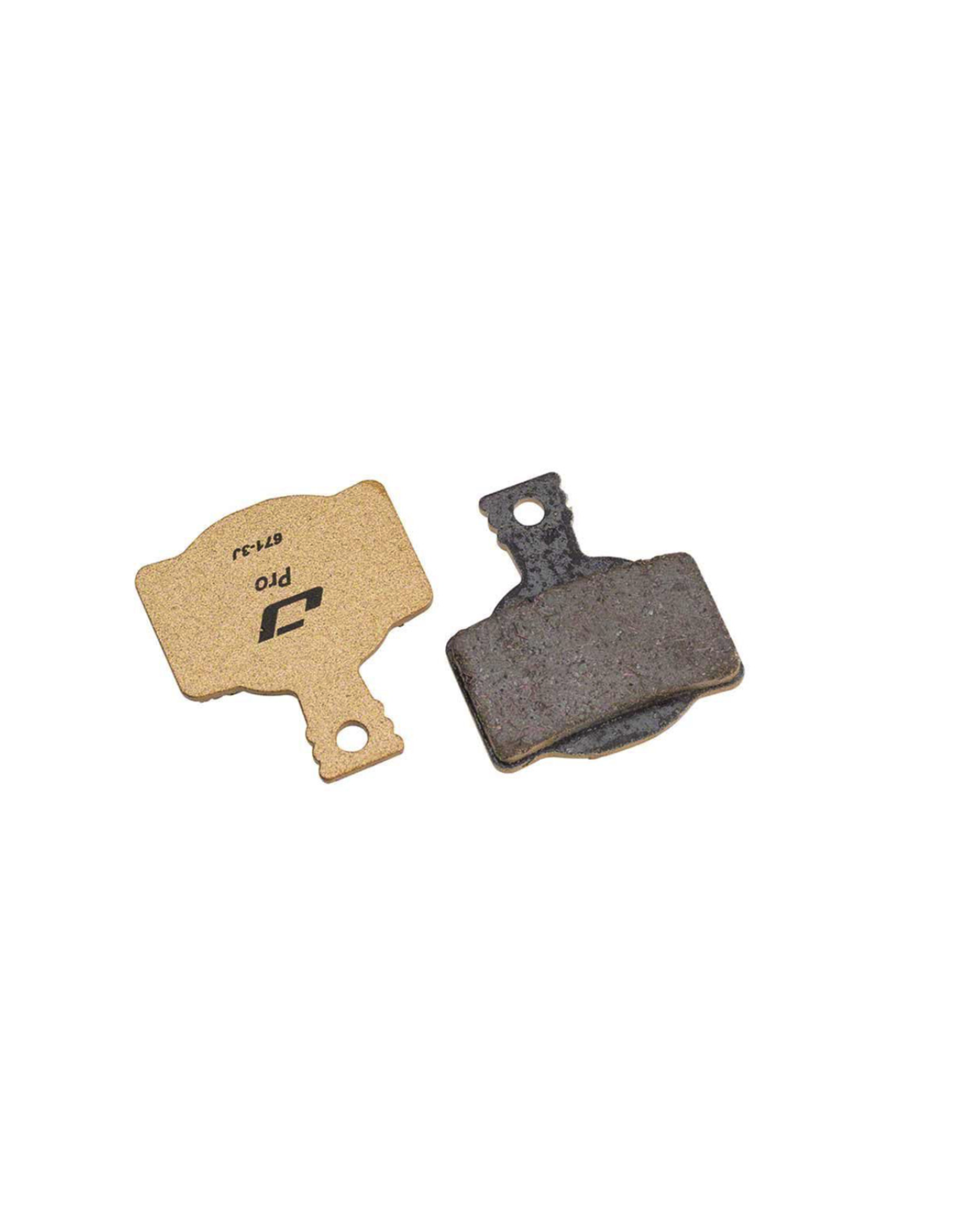 Jagwire Jagwire, Pro Semi-Metallic, Disc Brake Pads, Shape: Magura MT8/Campagnolo H11, Semi-Metallic