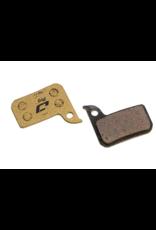 Jagwire Jagwire, Pro Semi-Metallic, Disc Brake Pads, Shape: SRAM HRD/Level TLM, Semi-Metallic