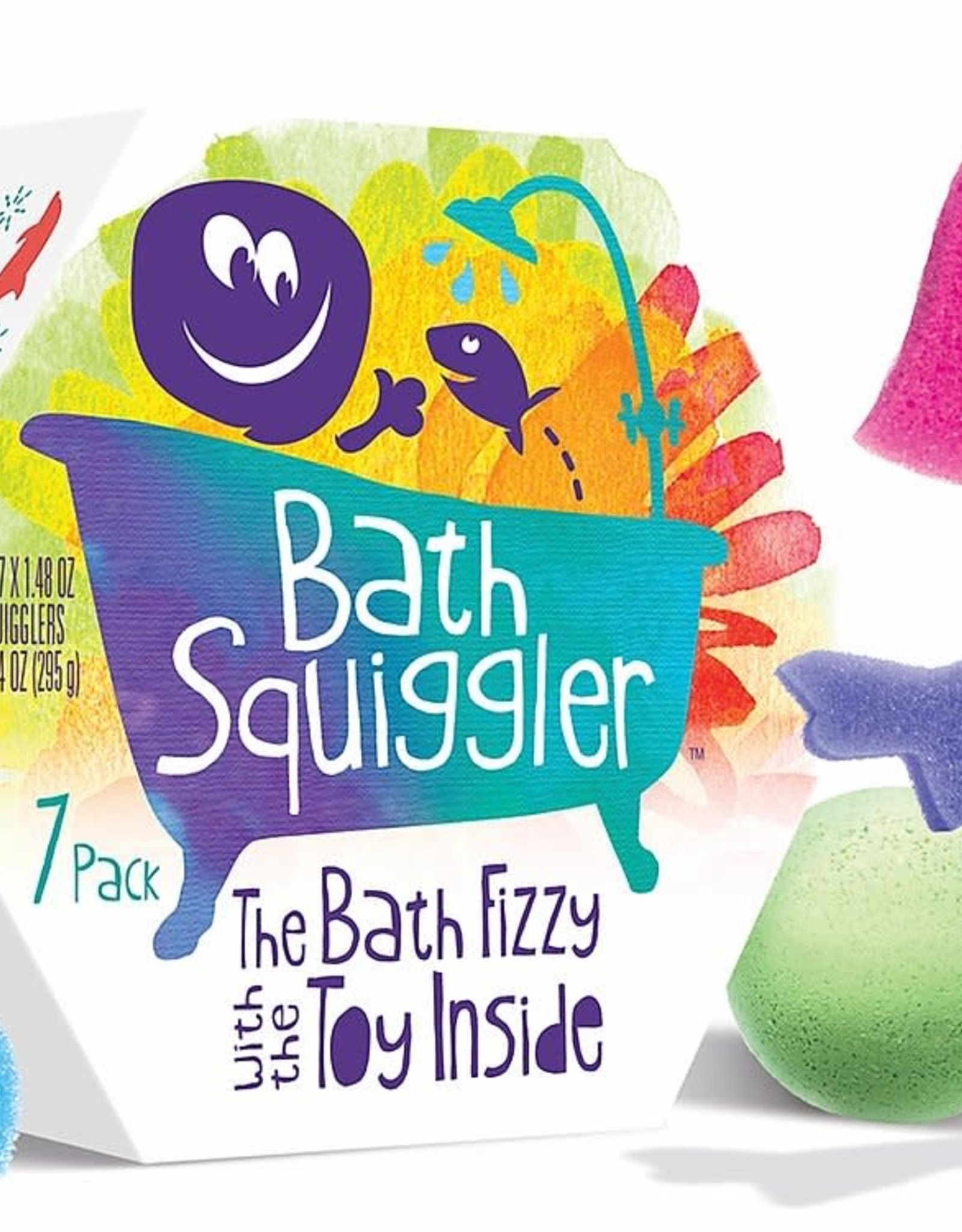 Loot Bath Squiggler Box 7 Pack