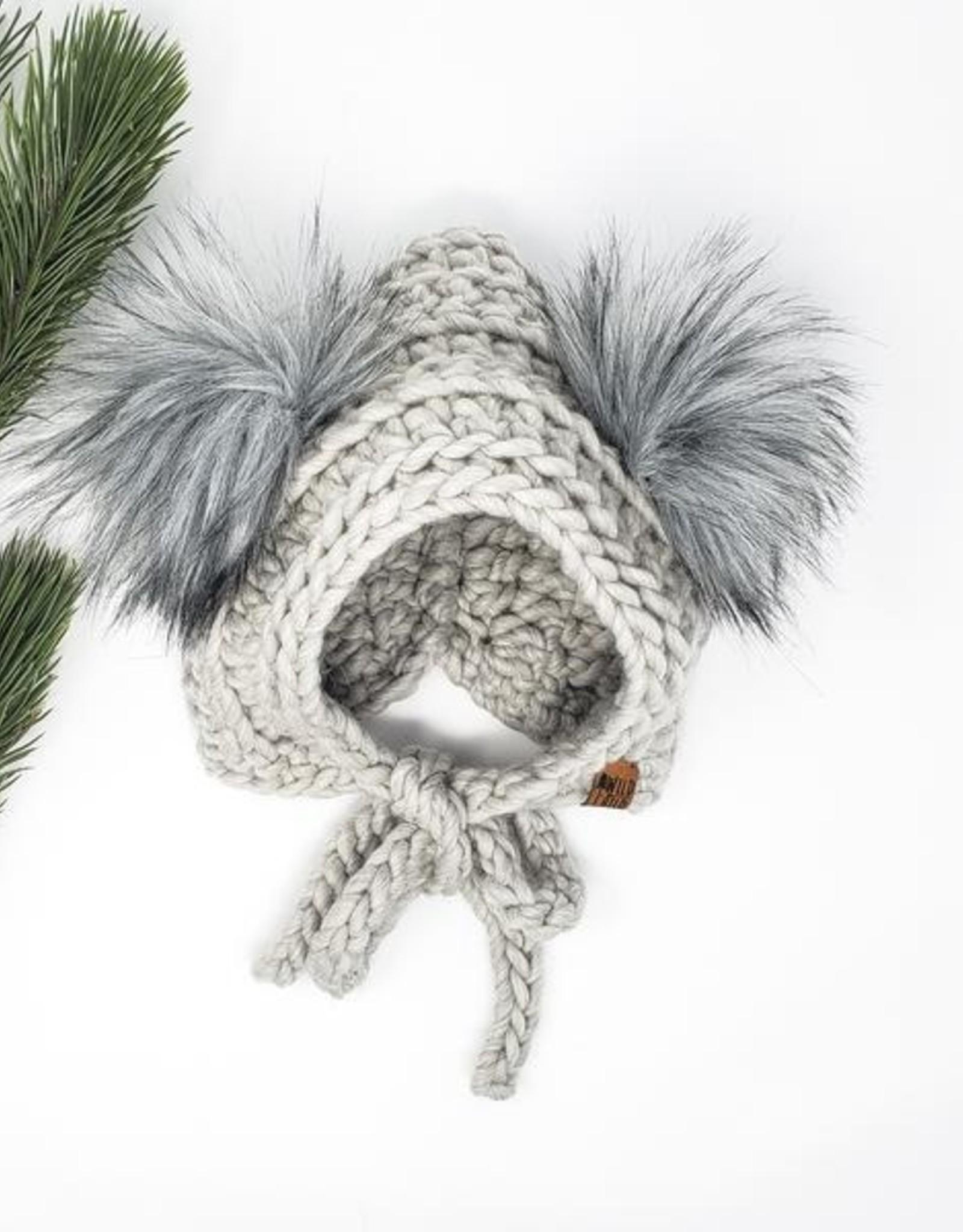 Wild Child Designs Wild Child Designs The Coastal Cub Hat Heather 1-3 Years