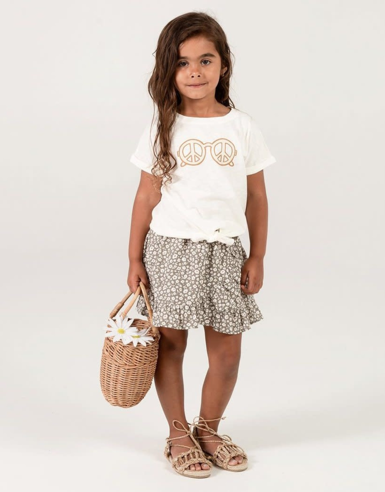 Rylee & Cru Rylee & Cru Flora Wrap Skirt