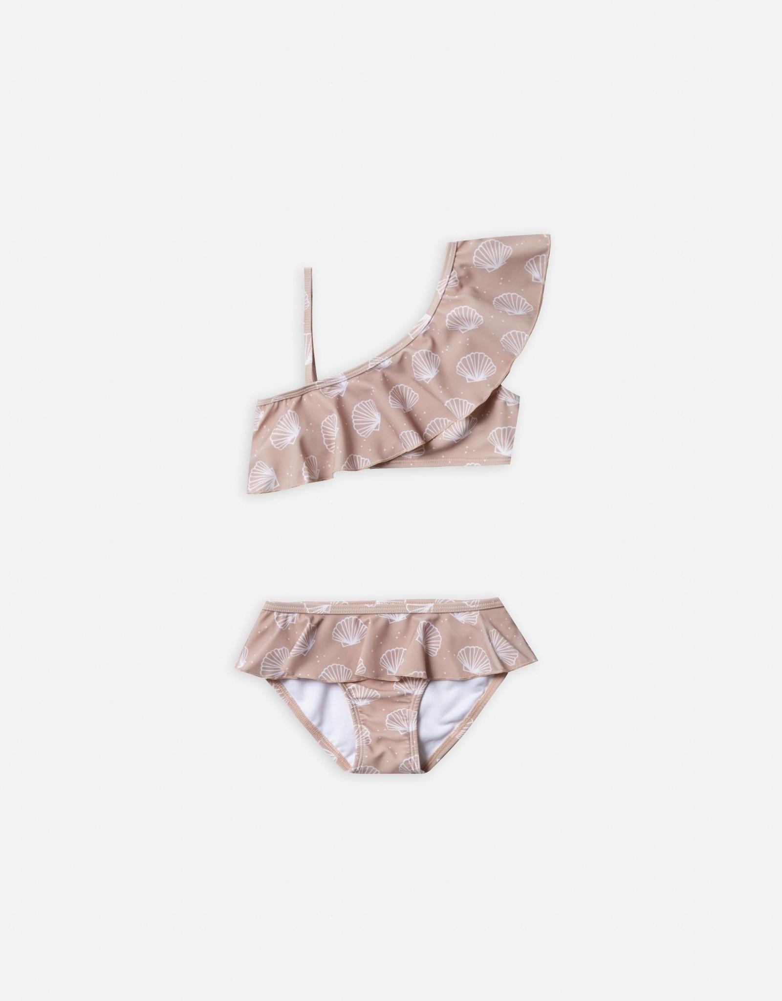 Rylee & Cru Rylee & Cru Seashell Skirted Bikini