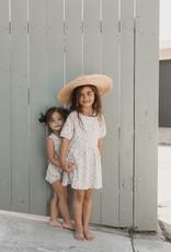 Rylee & Cru Rylee & Cru Dotty Flowers Playsuit