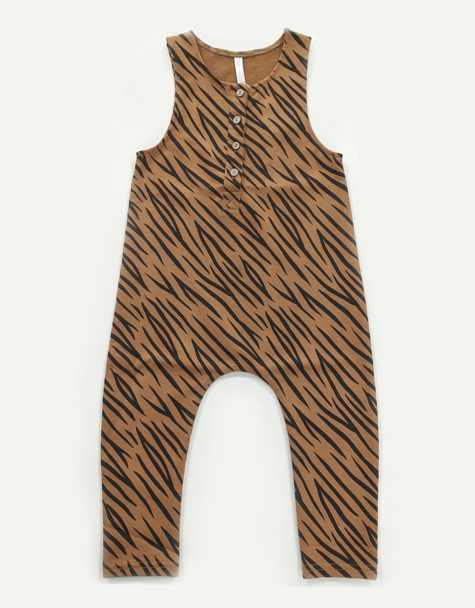 Rylee & Cru Rylee & Cru Tiger Jumpsuit