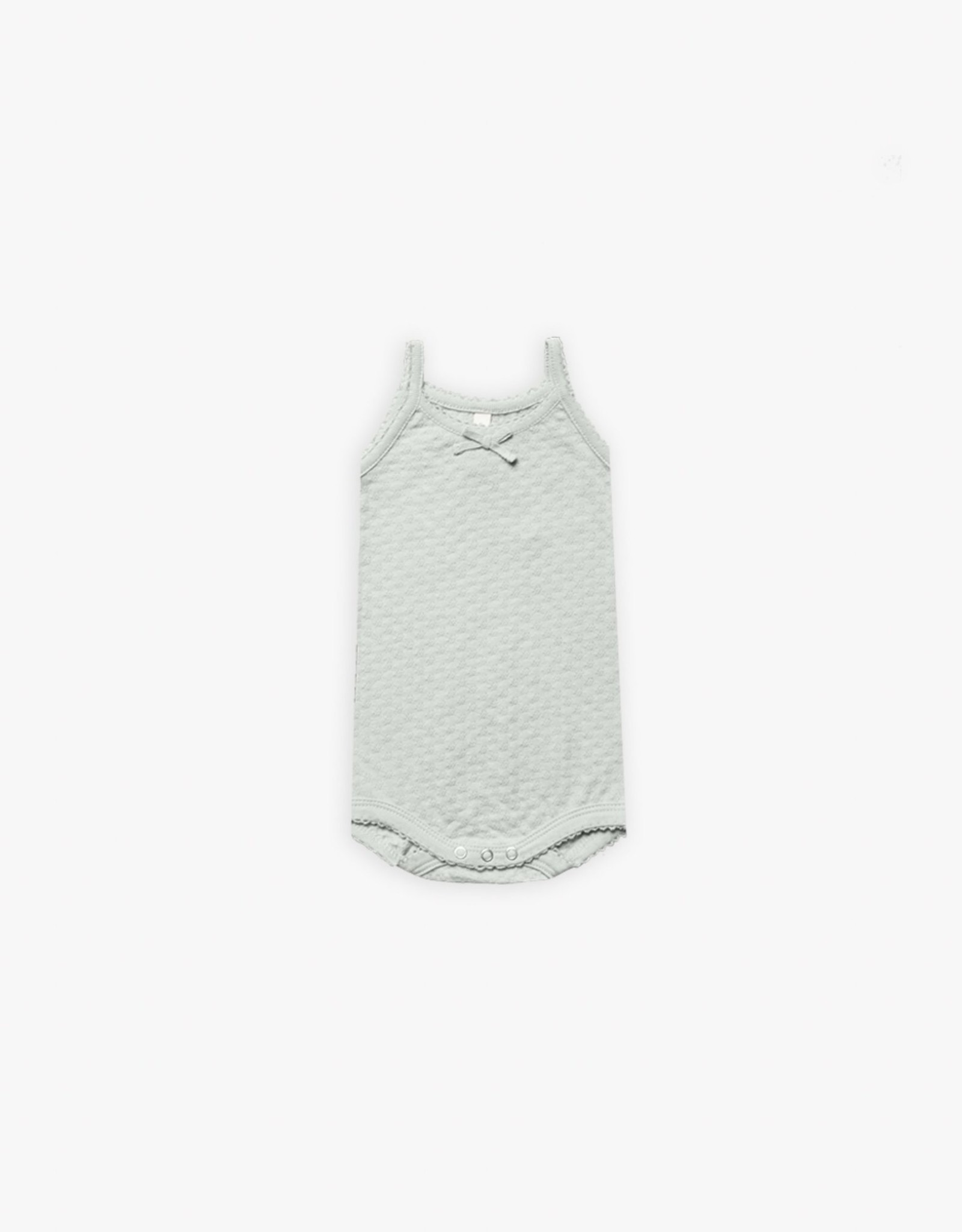 Quincy Mae Quincy Mae Pointelle Tank Onesie