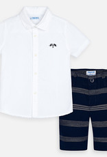 Mayoral Mayoral Bermuda and T-shirt set