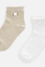 Mayoral Mayoral Girls Set of 2 Socks Size 6