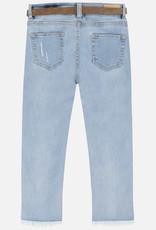 Mayoral Mayoral Slim Denim Cropped Pants Size 8