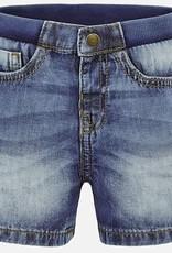 Mayoral Mayoral Basic Denim Bermuda Shorts Size 9 Months