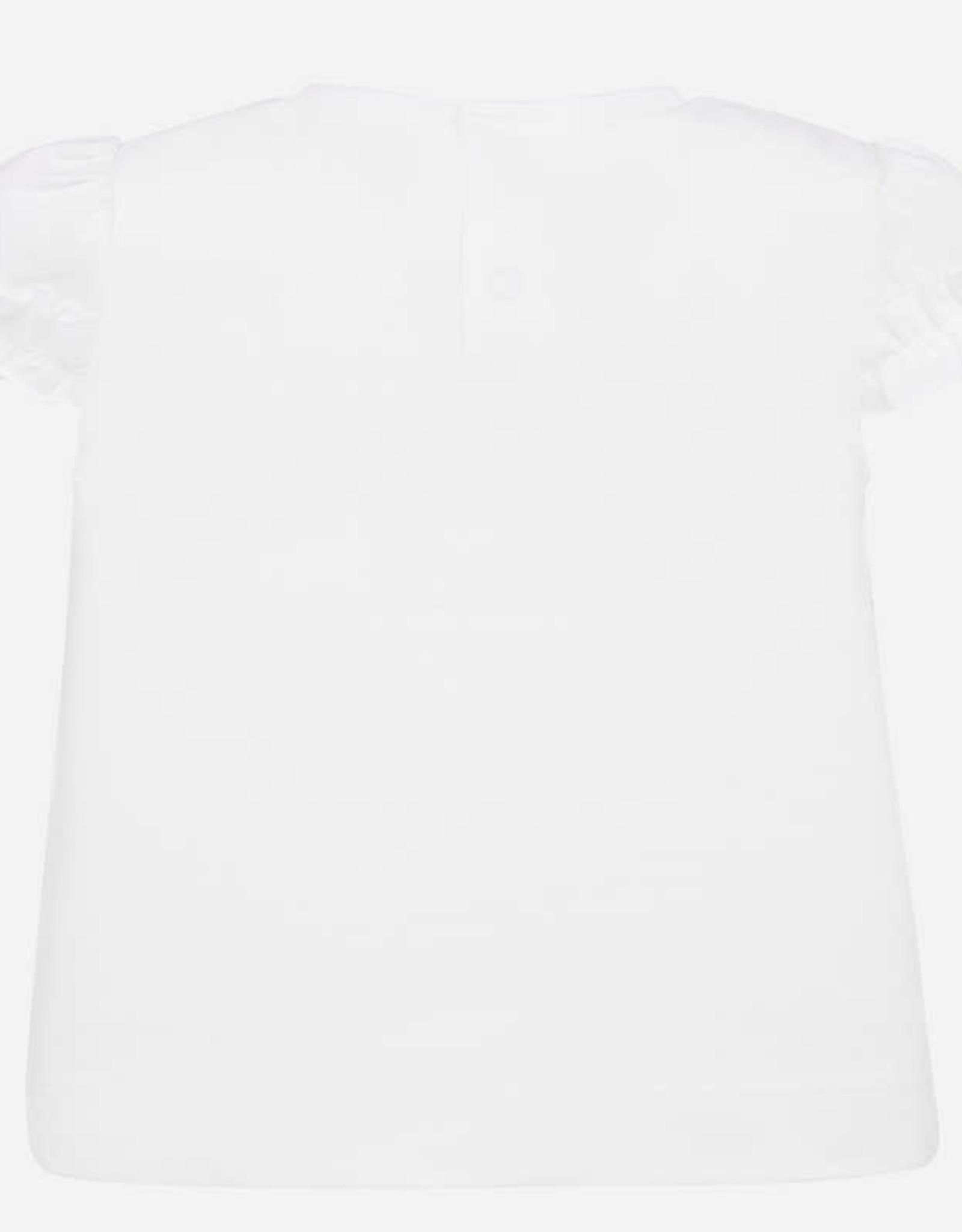 Mayoral Mayoral Short Sleeve Polka Dot Tee Shirt Size 18 Months