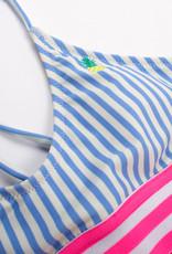 Shade Critters Shade Critters Two Piece Tie-Back Bikini Pineapple Stripe