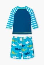 Hatley Hatley Swim Set Great White Shark
