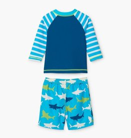 Hatley Hatley Swim Set Great White Shark
