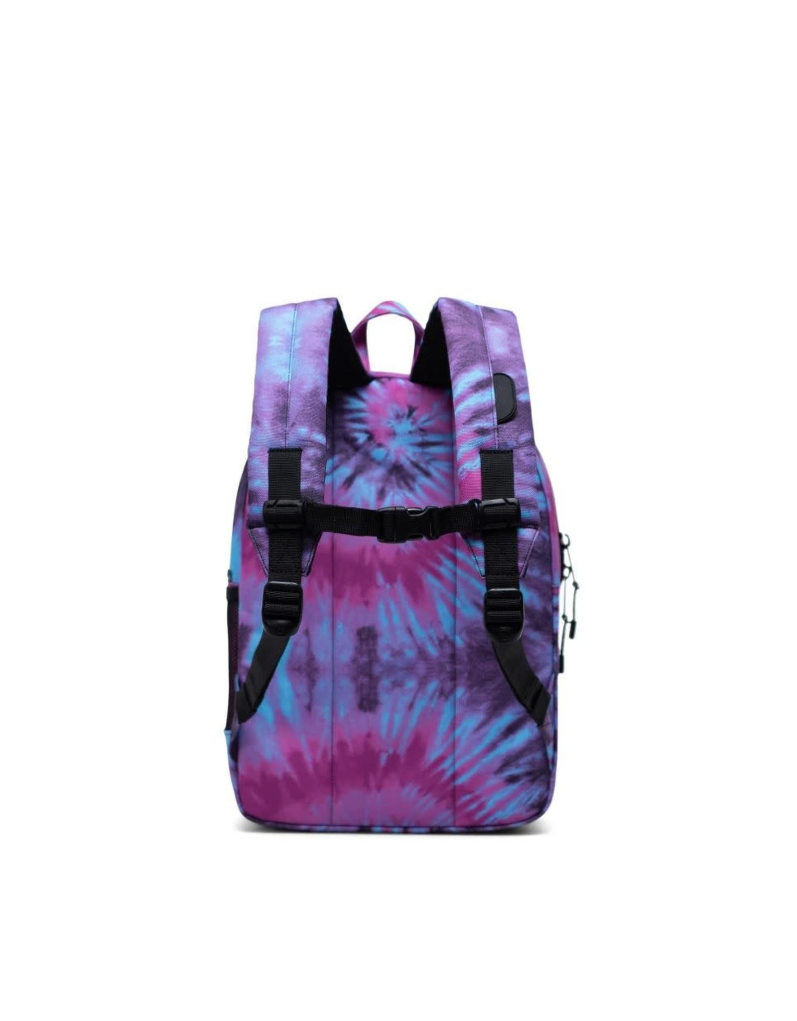 Herschel Herschel Heritage Backpack Youth Tie Dye/Black