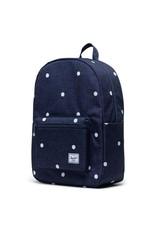 Herschel Herschel Settlement Backpack Sprout Polka Dot Crosshatch Peacoat