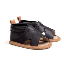 Pretty Brave Pretty Brave Cross-Over Sandal Castle Black
