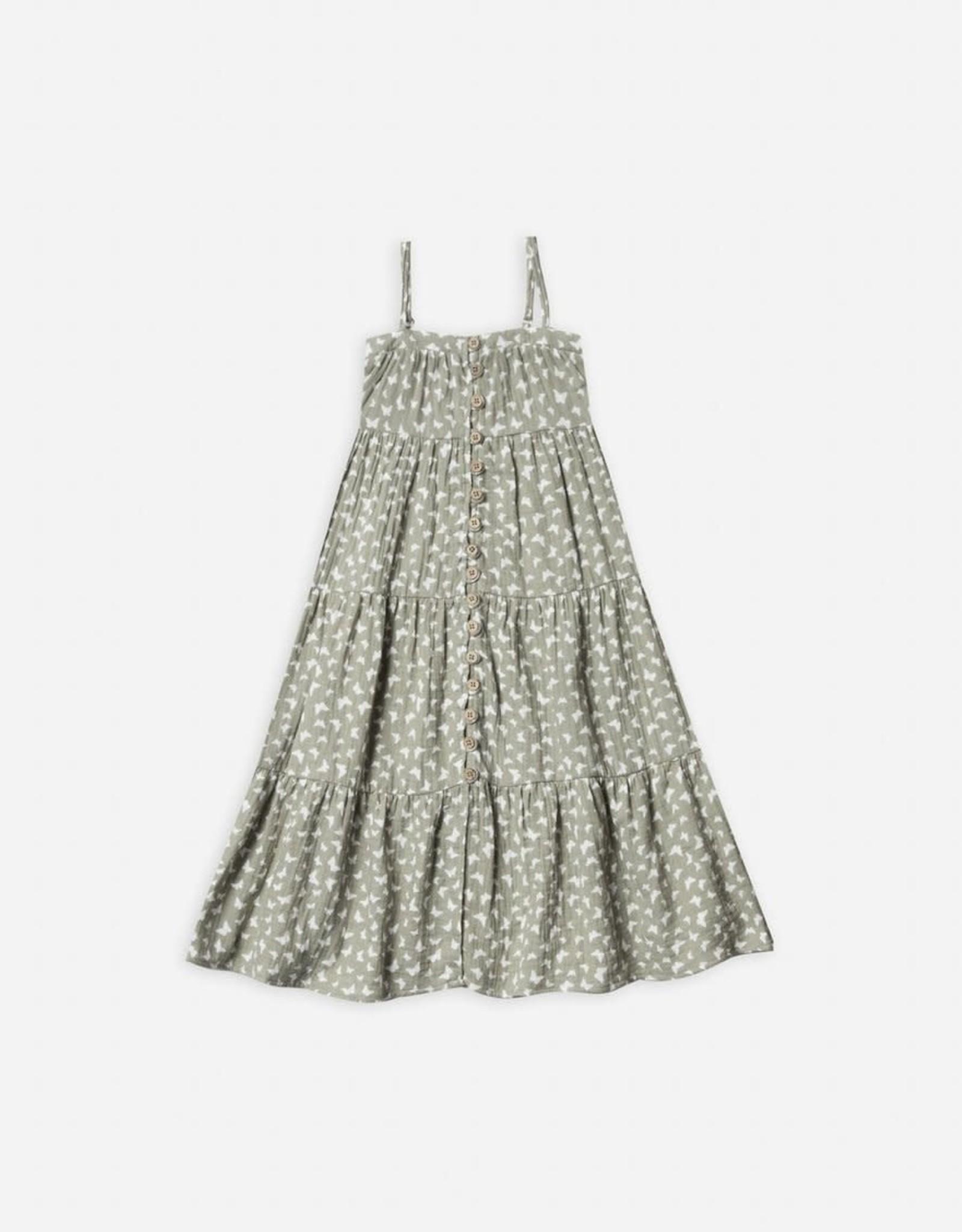 Rylee & Cru Rylee & Cru Butterfly Tiered Maxi Dress