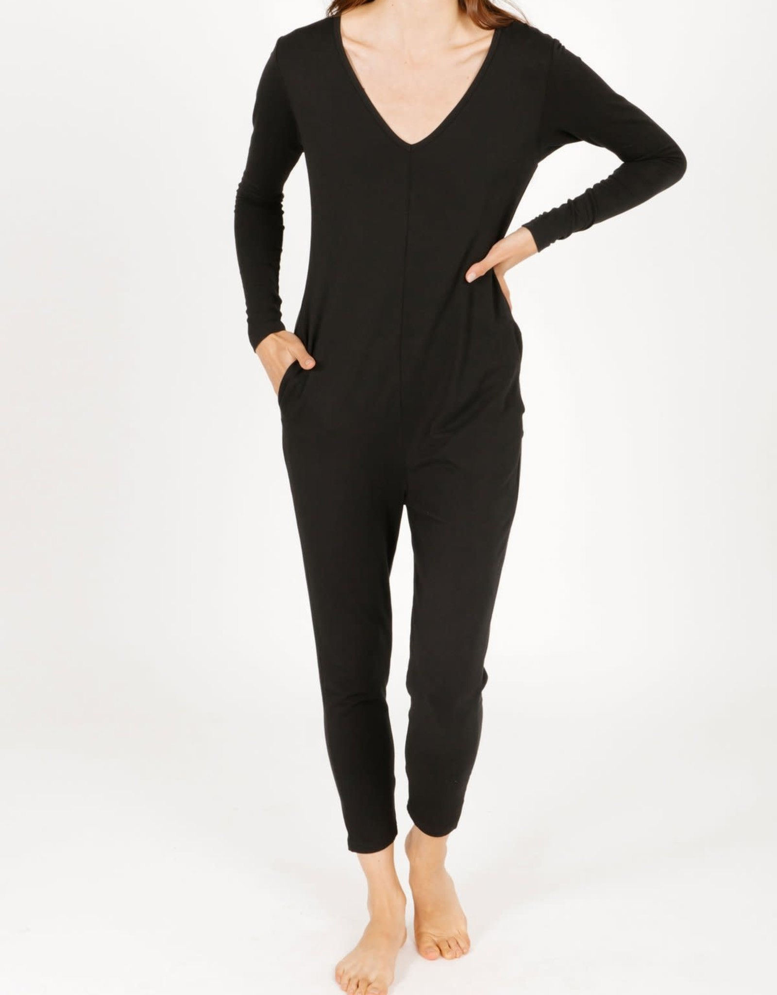 Smash & Tess Smash & Tess Friday Romper Black/Chai