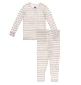 Kickee Pants Kickee Pants Everyday Heroes Print Long Sleeve Pajama Set