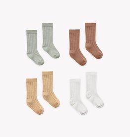 Quincy Mae Quincy Mae Baby Socks 4 Pack