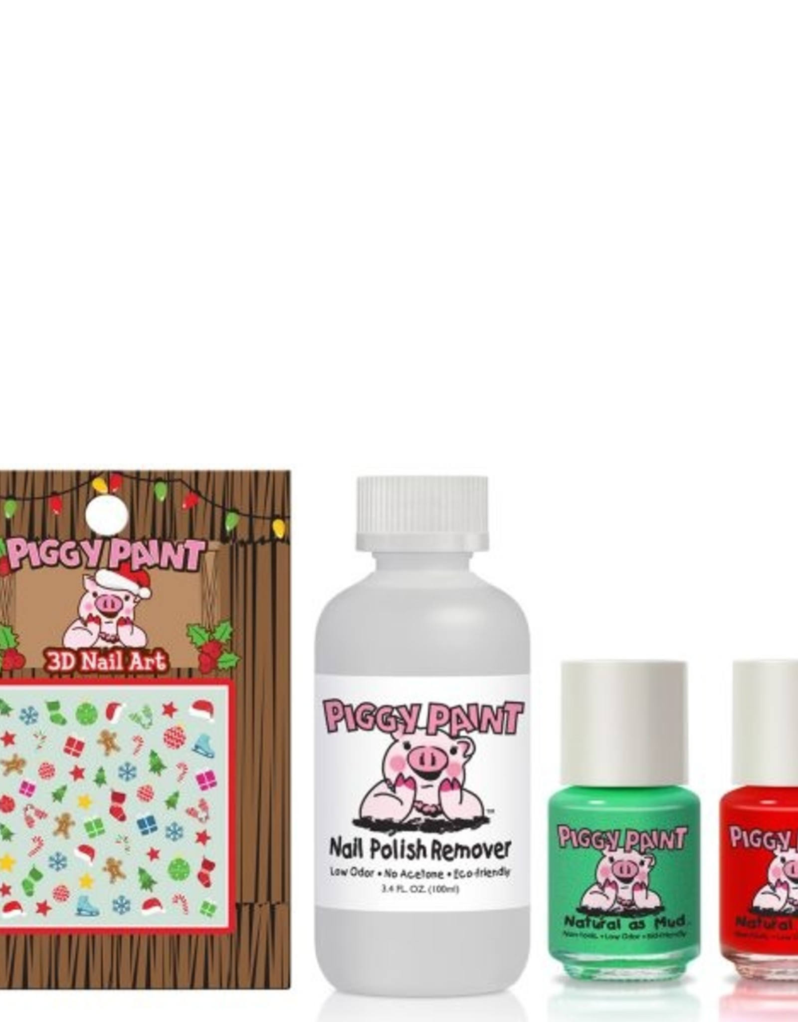 Piggy Paint Piggy Paint Oh Holly Jolly Gift Set