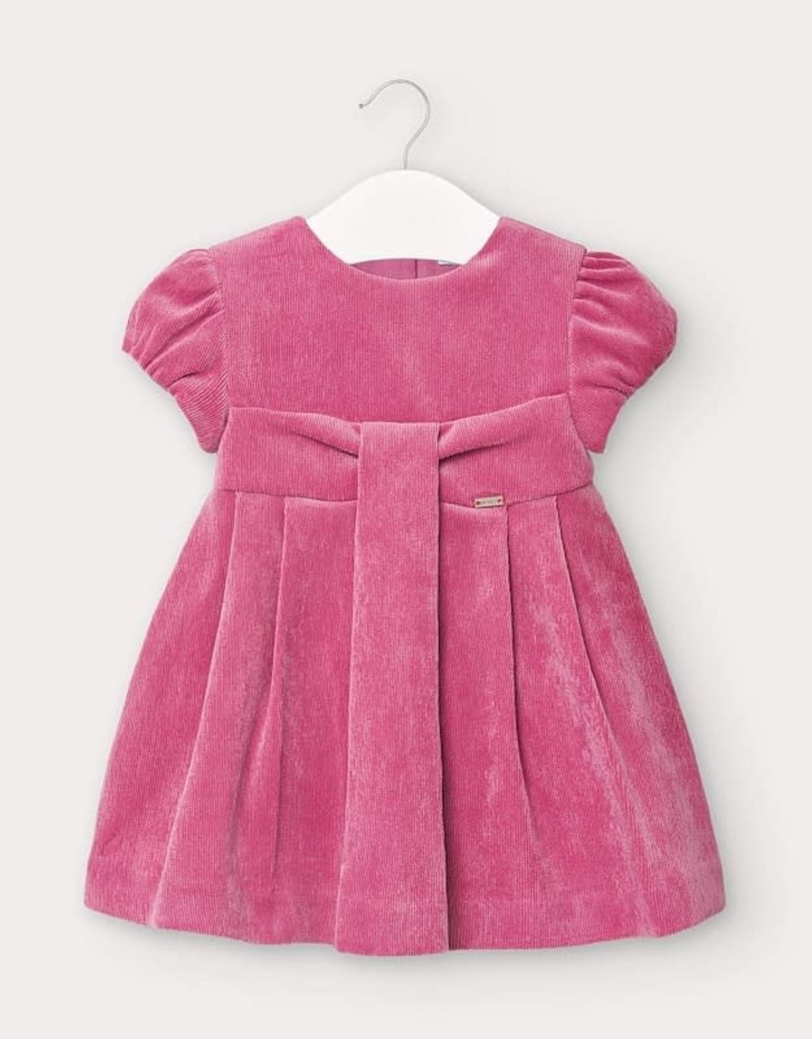 Mayoral Mayoral Baby Girl Corduroy Dress