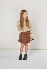 Rylee & Cru Rylee & Cru Button Front Mini Skirt