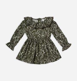 Rylee & Cru Rylee & Cru Ruffle Collar Baby Dress