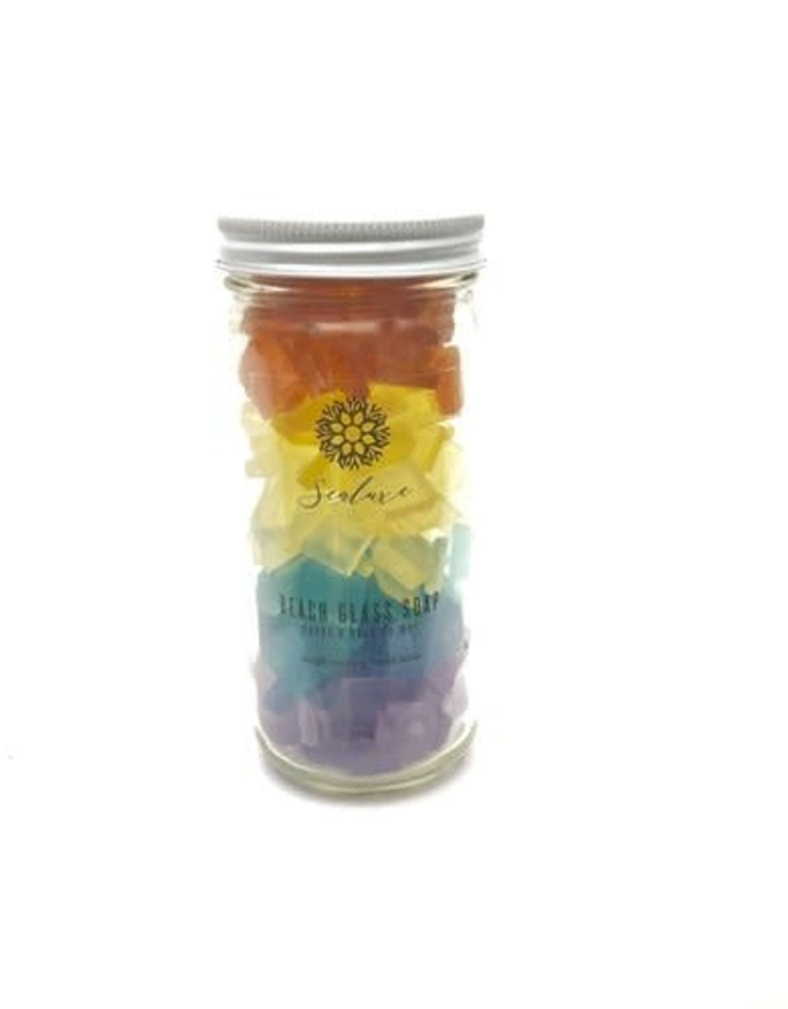 Sealuxe Rainbow Beach Glass Soap
