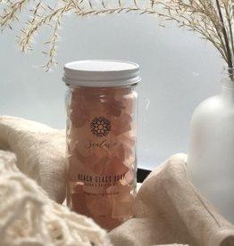 Sealuxe Rose Beach Glass Soap