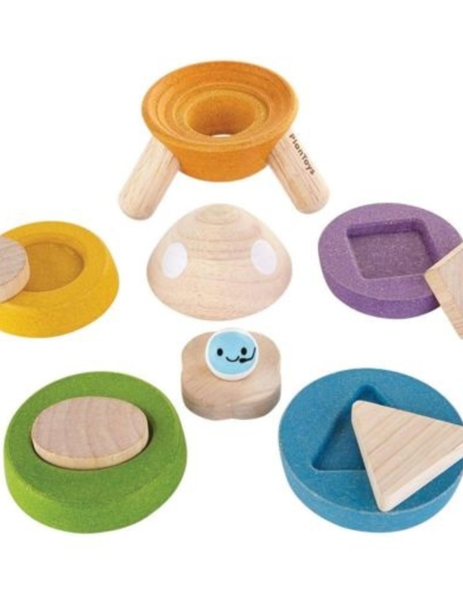 Plan Toys Plan Toys Stacking Rocket