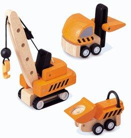 Plan Toys Plan Toys Construction Vehicles Set