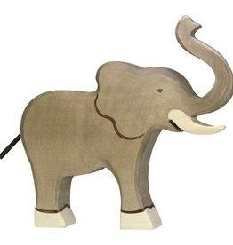 Holztiger Holztiger Elephant Raised Trunk