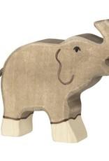 Holztiger Holztiger Elephant Small Trunk Raised